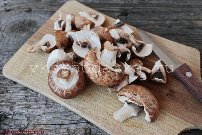 Крем из грибов