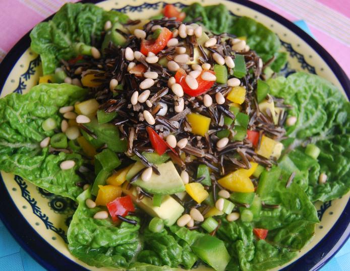 Салат с авокадо рецепты с орехами и