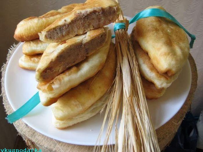 Жареные пирожки из дрожжевого теста