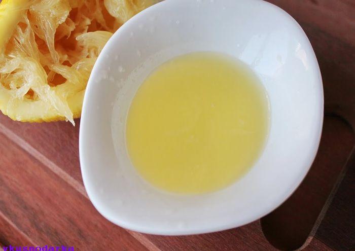 Парфе с лимоном и инжиром