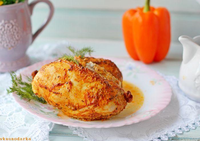 рецепты из филе грудки курицы в духовке