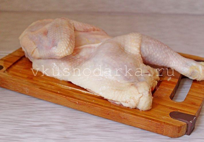рецепт с филе курицы с овощами в духовке #8