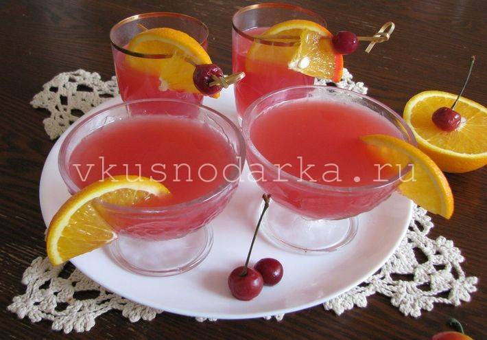 Рецепт киселя из ягод