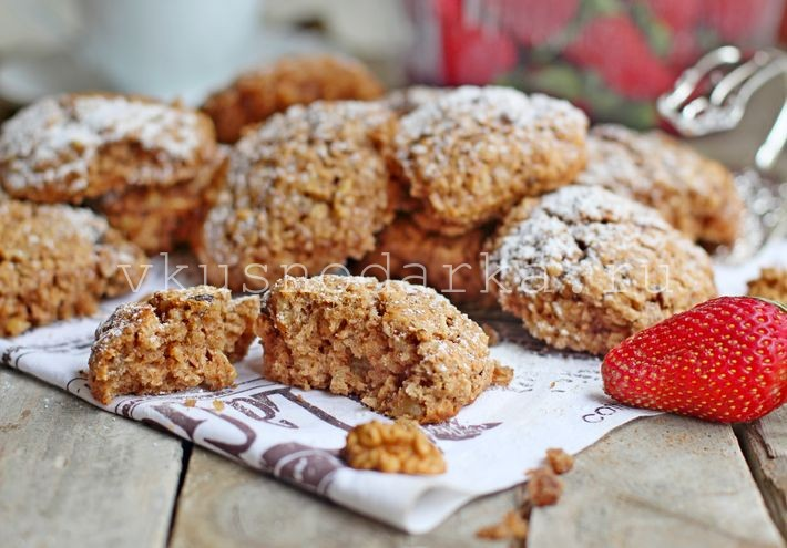 Овсяные печенья постные рецепт пошагово