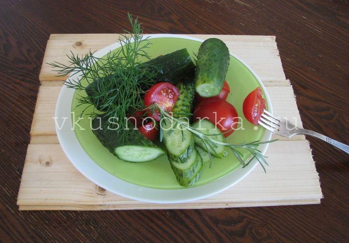 Свежие малосольные огурцы рецепт с пошаговым фото