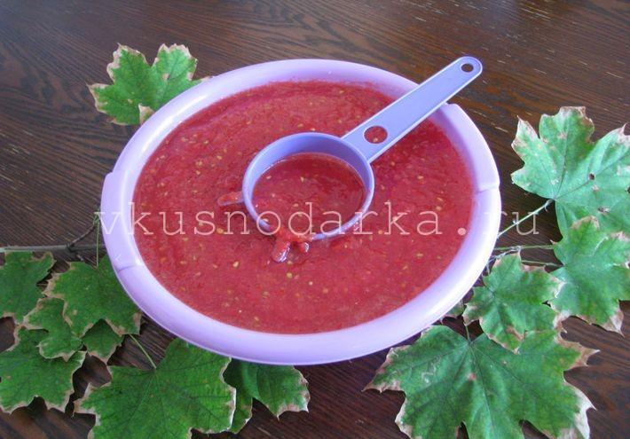 Рецепт аджики из помидоров