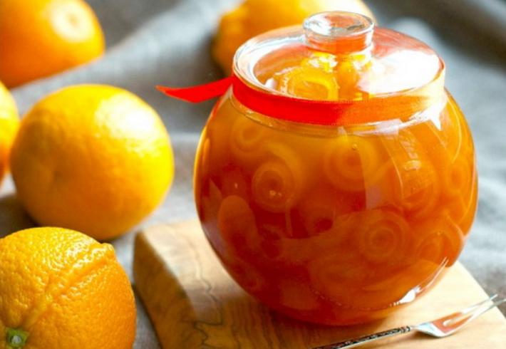 Варенье из апельсинов с корицей