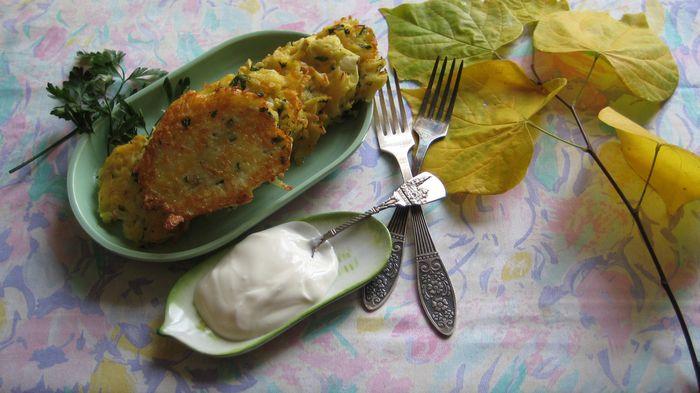 Ингредиенты для дерунов картофельных