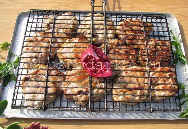 Вкусные куриные бедрышки