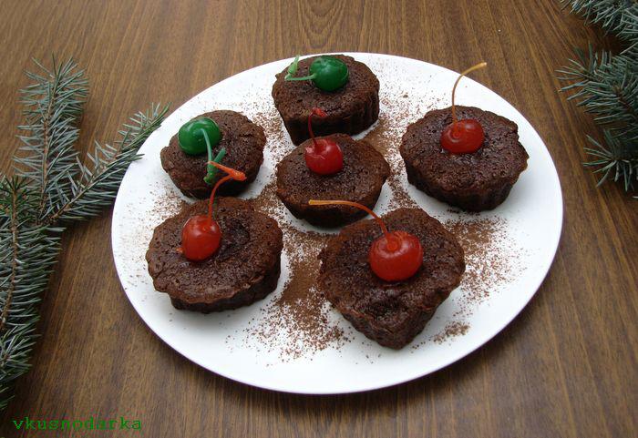 Готовим десерт Шоколадный фондан