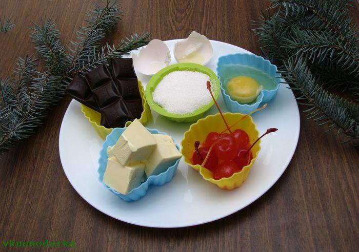 Состав продуктов для приготовления десерта шоколадный фонтан