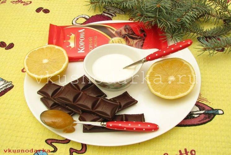Подготовка основных ингредиентов для шоколадного ганаша