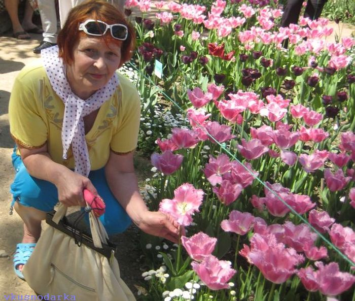 Цветочные баллы в Никитском ботаническом саду