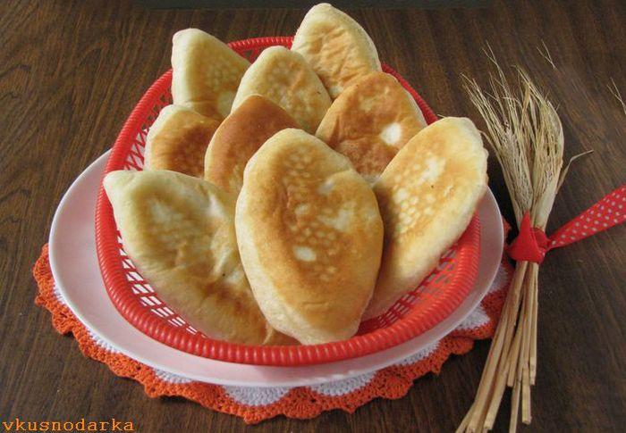 Рецепт дрожжевых пирожков с картошкой