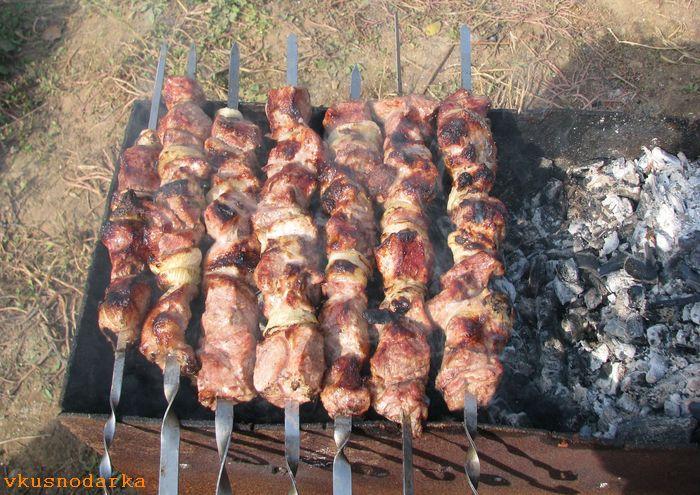 Секрет для приготовления вкусного шашлыка из свинины