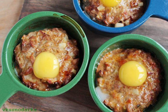 Вернуть блюдо в духовку на 5-7 минут