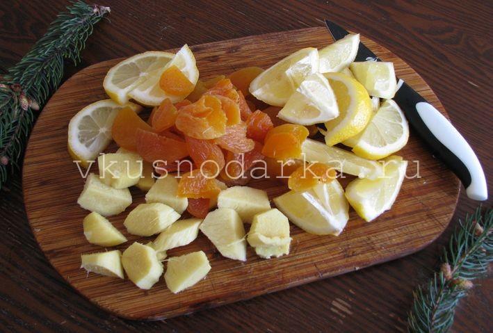 Варенье из имбиря и лимона