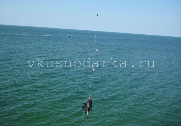 Ловля бычка на азовском море весной