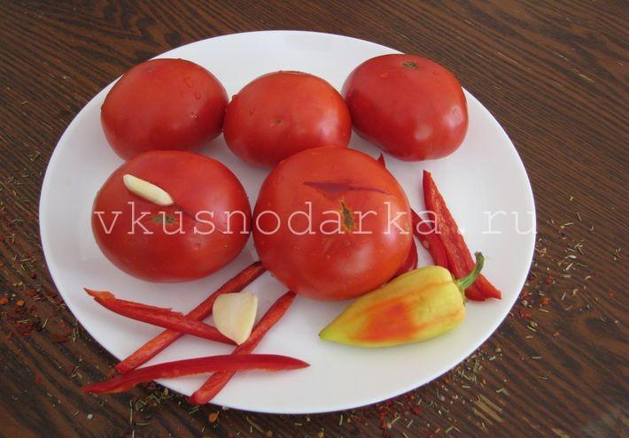 Рецепт консервирования сладких помидоров