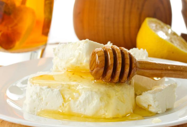 Творожная нежность с медом