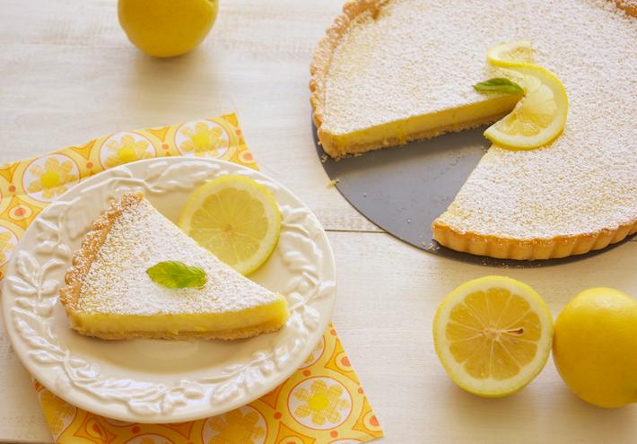 Тарт лимонный