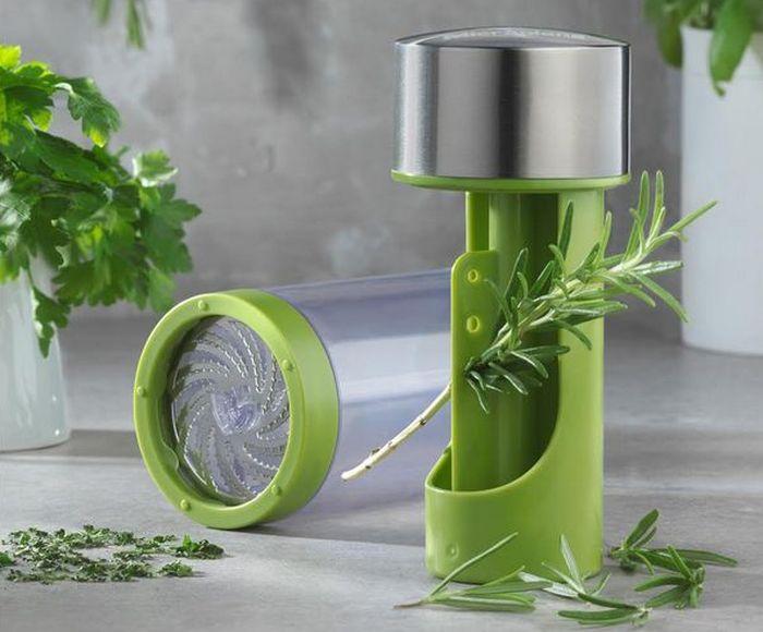 Для измельчения зелени