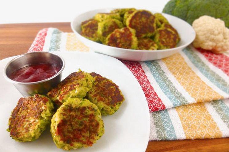 Котлеты из цветной капусты с сыром в духовке — Нескучные Домохозяйки