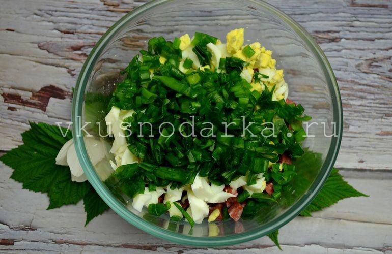 Добавить в начинку для пирожков зеленый лук