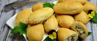 Пирожки с копченой колбасой и сыром - рецепт очень вкусных пирожков
