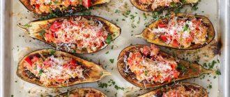 Фаршированные баклажаны в духовке — оригинальные рецепты