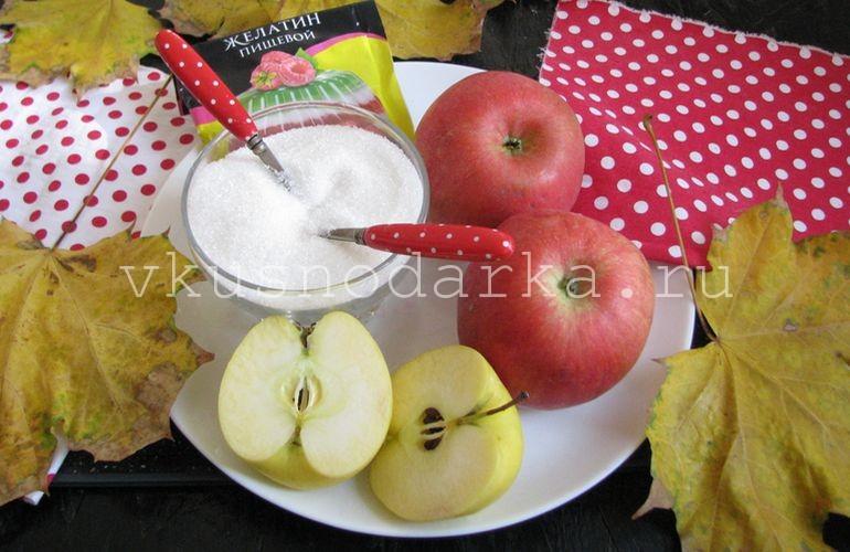 Сырье для яблочного варенья на зиму